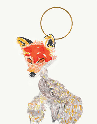 Elham Rokni, 'The Vixen and the Hyena', 2017