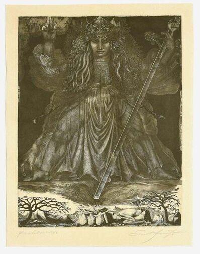 Ernst Fuchs, 'Samson, the Judge', 1960s