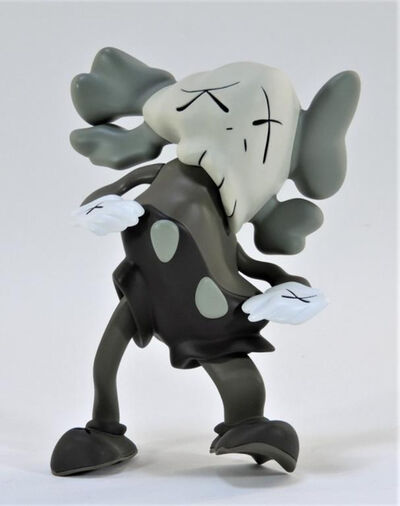 KAWS, 'DISTORTED COMPANION BROWN', 2010