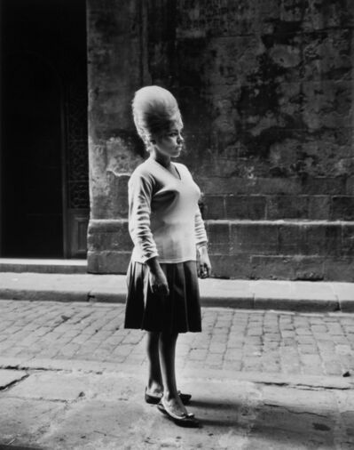 Evelyn Hofer, 'Girl, Barcelona', 1963