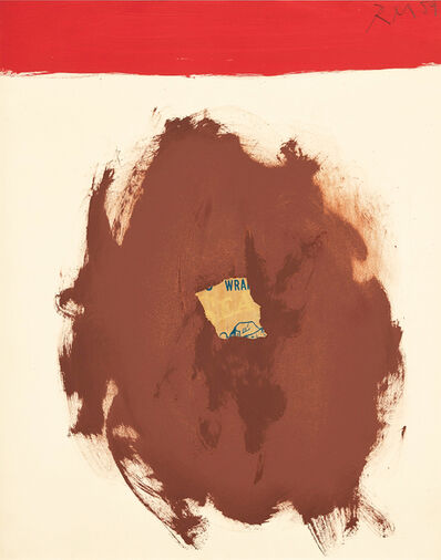 Robert Motherwell, 'Sea Lion with Red Stripe', 1959