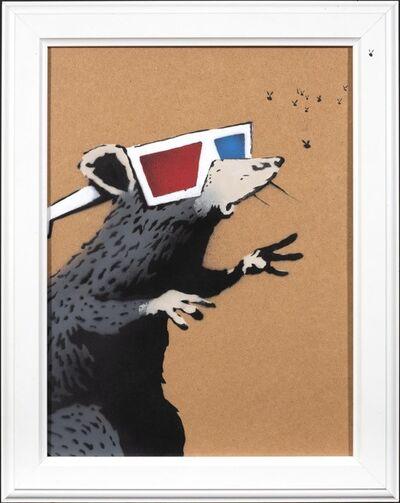 Banksy, '3D Rat', 2010