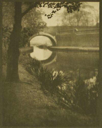 Alvin Langdon Coburn, 'Bridge Over Paddington Canal', 1909