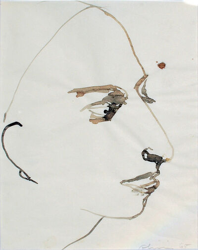 Nathan Joseph Roderick Oliveira, 'Model Sketch #10', 1965