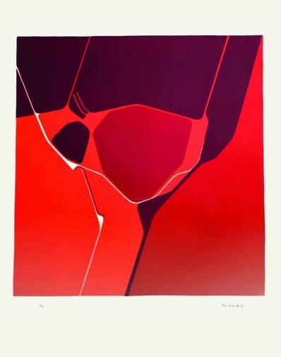 Pablo Palazuelo, 'Le mois du coeur', 1972