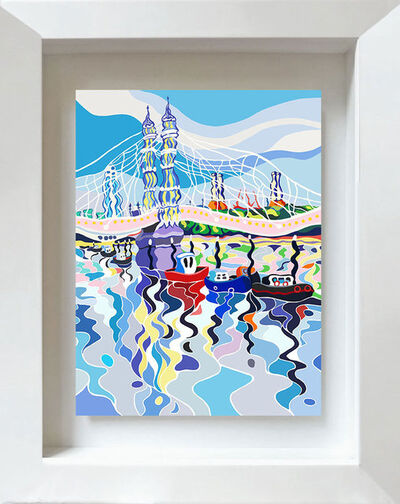 Sarah Fosse, 'Albert Bridge Reflections - Mini', 2018