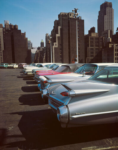 Evelyn Hofer, 'Car Park, New York', 1965