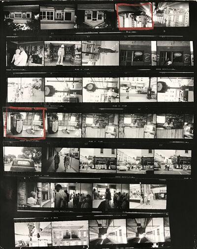 Robert Frank, 'Contact Sheet #21 (Cafe Beaufort, South Carolina)', 2009