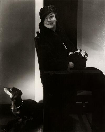 Edward Steichen, 'Dorothy Parker', 1931