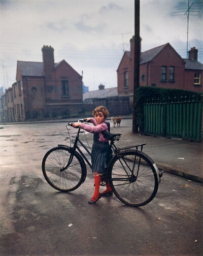 Evelyn Hofer, 'Girl with Bicycle, Dublin', 1966
