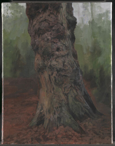 George Shaw (b. 1966), 'Portrait of an Old Midlander (Single Tree) ', 2015