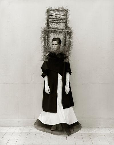 Albert Watson, 'Leslie Weiner, Yohji Yamamoto, London (Chair)', 1989
