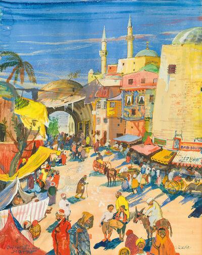 Oskar Laske, 'Oriental Market', 1913
