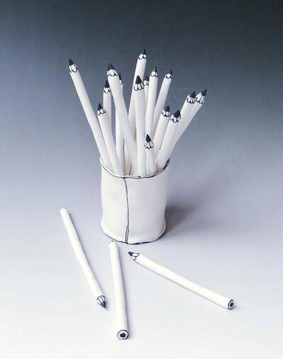 Katharine Morling, 'Cups of Pencils', 2020