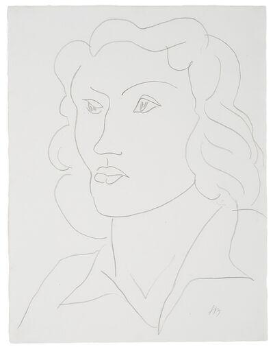 Henri Matisse, 'Tête de femme', 1946