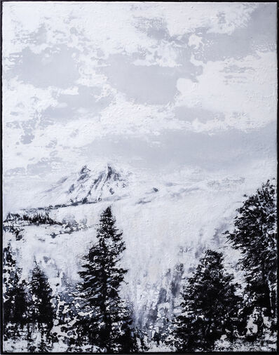 Jens Rausch, 'Umwitterung eines Gebirges', 2019