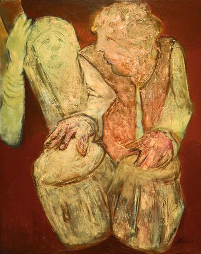 Krishen Khanna, 'Untitled', ca. 1960