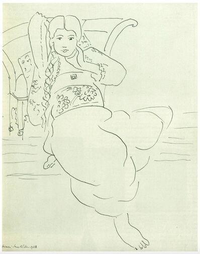 Henri Matisse, 'Odalisque', 1928