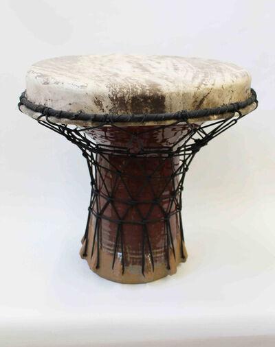 Hadrian Mendoza, 'Djembe #2 (Functional Drum)'