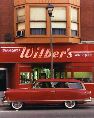 Bruce Wrighton, '1953 Nash Ranbler, Wilber's Jewelers, Johnson City, NY', 1987