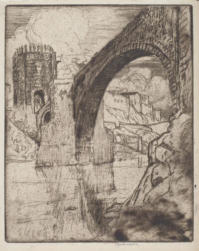 Joseph Pennell, 'Arch of Bridge of Alcantara', 1904