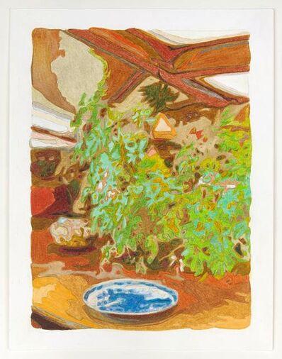 Naomi Reis, 'Plate, plant, pot (Frank Lloyd Wright's Living Room)', 2019