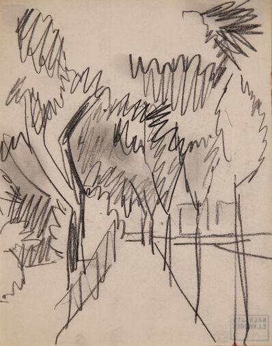Ernst Ludwig Kirchner, 'Allee mit schlanken Bäumen (Alley with slender Trees)', 1912