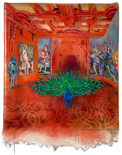 Andrew Lemay Cox, 'Peacock Room', 2014