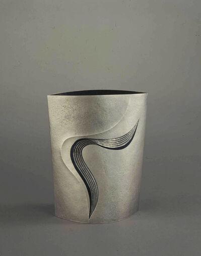 """Otsuki Masako, 'Silver Vase """"Hyo"""" (Float)', 2008"""