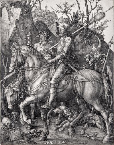 Albrecht Dürer, 'Knight, Death, and the Devil', 1513