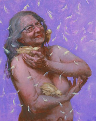 Judy Takacs, 'Carol Raises Chicks and Spirits', 2019