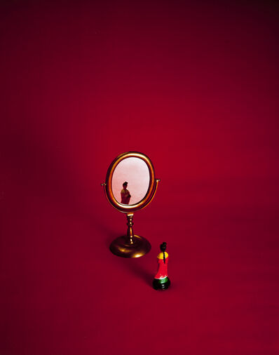 Liliana Porter, 'Red with Mirror', 2000