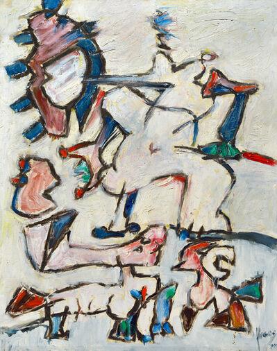 Oswaldo Vigas, 'De mon adolescense I (Tentaciones)', 1994