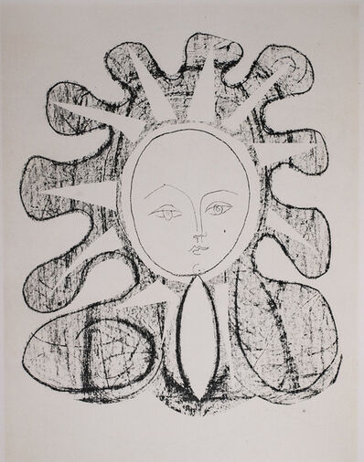 Pablo Picasso, 'Francoise En Soleil (Francoise in the Sun), 1949 Limited edition Lithogrph by Pablo Picasso', 1949