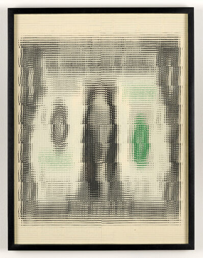 Mark Wagner, 'Proto-Explosion, Portrait', 2018