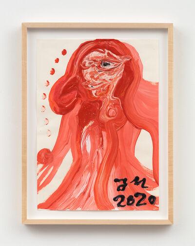 """Jonathan Meese, 'DIE MUTTERZ DER GESAMTKUNST PORZELANKISTE """"DEUTSCHLAND"""" JAGT ALLE MICKRIGEN MITLAUFNULLPEN! (WIE SAU)', 2020"""