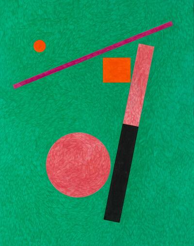Stephen Antonakos, 'Untitled Drawing F#1', 1988