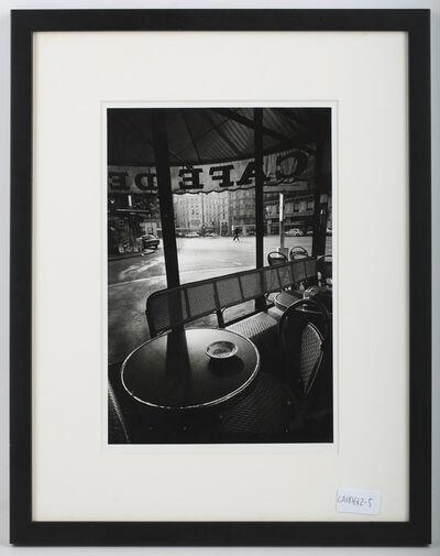 Jeanloup Sieff, 'Cafe De Flore', 1976