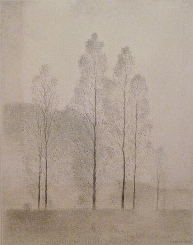 Gunnar Norrman, 'Grands arbres', 1990