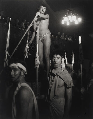 Brassaï, 'L'élection du plus beau modèle, au bal de La Horde (The election of the most beautiful model, Bal de La Horde)', ca. 1932