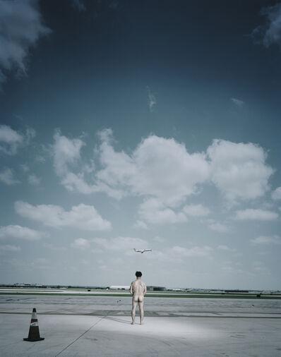 Andreas Mühe, 'Till auf der Landebahn von San Antonio am 23.Mai 2012 ca. 10.34 Uhr', 2012