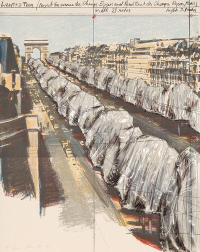 Christo and Jeanne-Claude, 'Wrapped Trees (Project for the Avenue des Champs-Elysées, Paris)', 1987