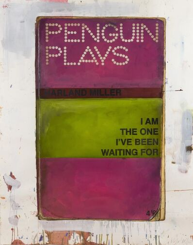 Harland Miller, 'I am the one I have been waiting for', 2011