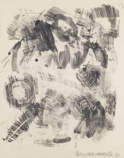 Robert Rauschenberg, 'Loop, from the Stoned Moon Series', 1969