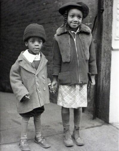 John Albok, 'Age of Innocence (Depression in Harlem - brother and sister)', 1933