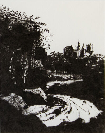Vik Muniz, '20,000 Yards (The Castle at Bentheim, After Jacob Ruisdael)', 1999