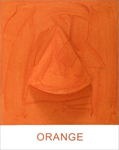 John Baldessari, 'Eight Colorful Inside Jobs: Orange', 2017