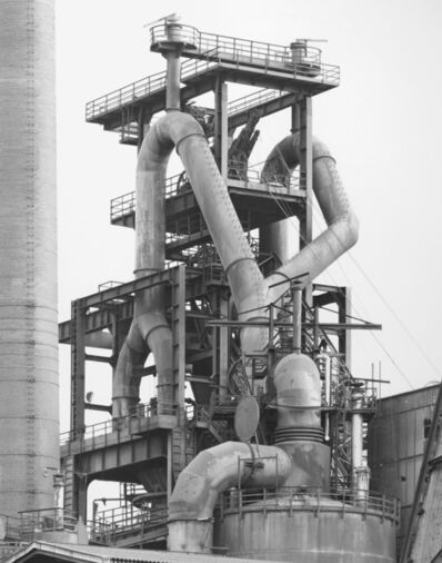 Bernd and Hilla Becher, 'Blast Furnace Head, HÖ 07, Schalker Verien, Gelsen Kirchner, Germany', 1982
