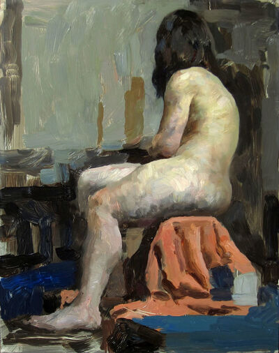 Hollis Dunlap, 'Figure in Orange and Blue', 2015