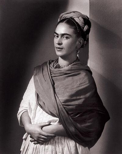 Nickolas Muray, 'Frida Kahlo - The Breton Portrait', 1939
